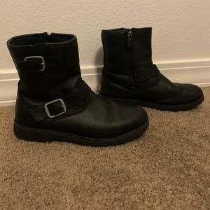 Ugg Harwell leather combat moto boot 4